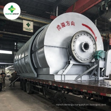 green energy waste tyre to fuel oil extraction machine