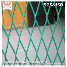 PVC revêtu / faible en carbone / acier / maillage métallisé expansé