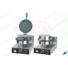 Cone Commercial Waffle Maker , Western Restaurants Cone Maker With 1-plate