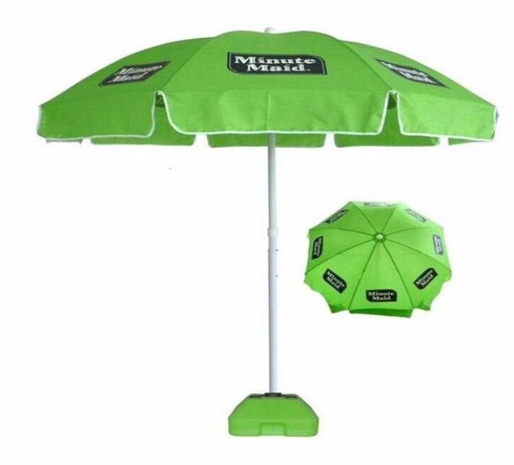 Large Size Sun Parasol Promotional minute maid