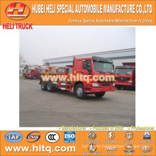 SINOTRUK HOWO 16CBM 6x4 336hp hook arm refuse truck factory price factory direct excellent quality