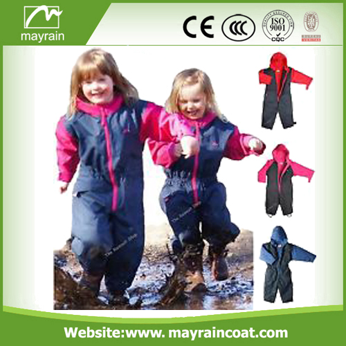 Children Outdoor Polyester Rainsuit