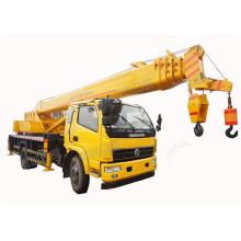 Grúa de camión estándar de 6 toneladas