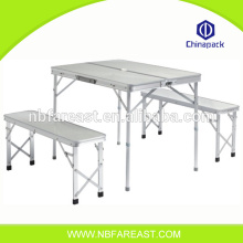 Latest direct hot sale China manufactory wholesale plastic round folding tables