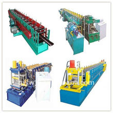 QJ automatic color steel C purlin forming machine