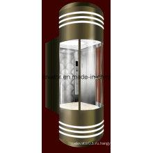 Красивый панорамный лифт высокого качества