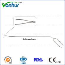 Sigmoidoscópio e Rectoscopia Instrumento Aplicador de algodão