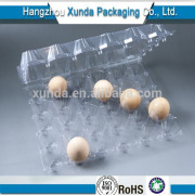 Plastic container with lock for egg