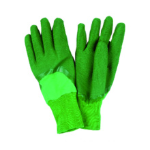 Interlock Liner Latex Half Coated Glove