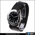 global wholesale quartz watch movement mens nylon watch