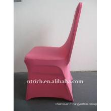 housse de chaise en spandex rose / rose vif, CTS687, pour toutes les chaises
