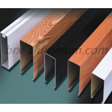 Wood Grain Aluminum Alloy Decorative Sheet
