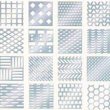 Perforated Plastic Mesh Sheets Factory