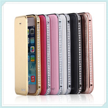 Cas de téléphone de Bling Bling de téléphone portable de haute qualité pour iPhone6 Plus