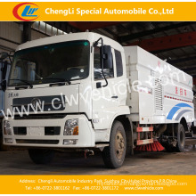 4X2 Dongfeng Sweeper Truck Sanitation Road Sweeping