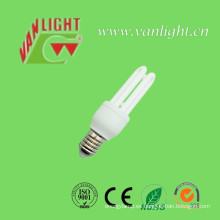 U forma serie lámparas Energy Saver bombilla CFL (VLC-MP3U-7W-R)