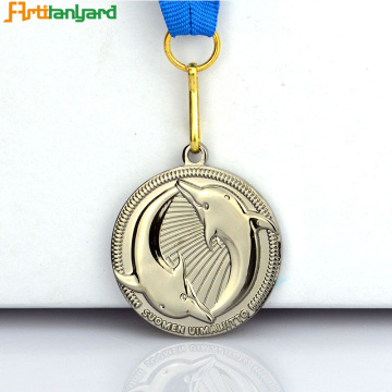 Customer+Design+Fashion+Metal+Silver+Medal