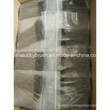 Limpieza de acero inoxidable o cepillo de pulido (YY-595)