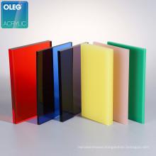 100% virgin colored 2mm 3mm plastic 4x8 acrylic plexiglass sheets
