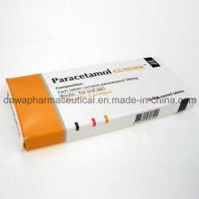 Bon effet antipyrétique et analgésique avec des comprimés de paracetamol en usine