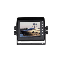 AHD 5.6 inch digital LCD car monitor with 2 channel video inputs