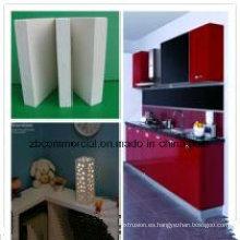 Junta de expansión / espuma de PVC de 1-30 mm de espesor para decoración interior