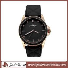 Mode-fördernde Silikon-Armbanduhr