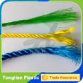 Corde de corde de torsion de corde de torsion de 3 brins