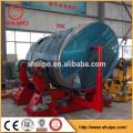 soldadura de tubería de acero que gira el rotador de la soldadura del tanque del rodillo