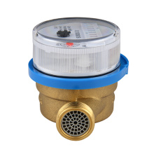 Household Single Jet Dry Dial Brass Body Water Meters