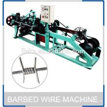Máquina de arame farpado trançado único de alta qualidade para venda