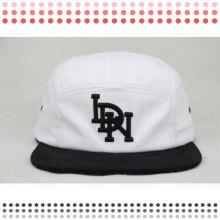 Новый 5 панели кепки с изготовленным на заказ Логосом заплаты