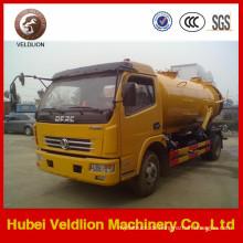 5m3 Tanker mit Weilong Pumpe Dongfeng Vakuum-Abwasser-Saugwagen
