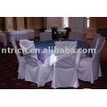 capa de cadeira encantadora e toalha de mesa
