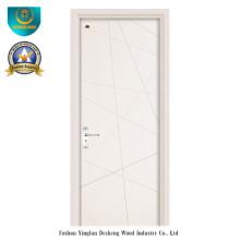 Porta de madeira estilo moderno para interior (HDF)