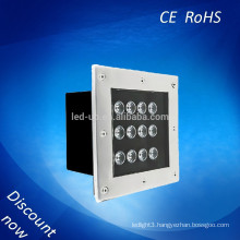 New rgb 12W led underground light with 3 years warranty