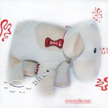 White Plush Organic Cotton Toy Cow