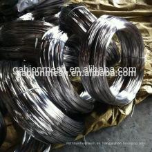 Alambre recocido negro del hierro y alambre GI BWG 20