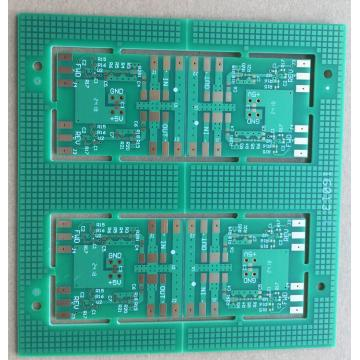 RF Power PCB 2 layer TG170  Matt green  Solder