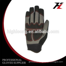 Long serve life Micro fiber OEM industrial gloves for bench grinder