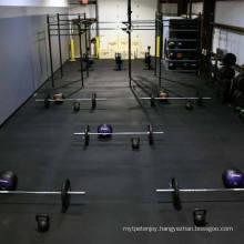Anti Slip Sound Insulation Rubber Flooring for Fitness Room/Rubber Gym Flooring