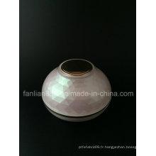 Pot de crème à base de bol pour emballage cosmétique