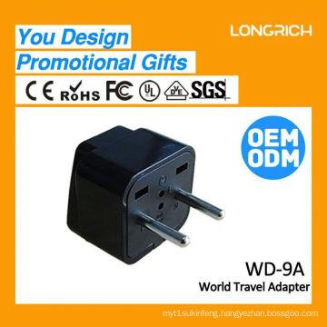 Multifunctional Travel Plug power socket france,israel socket ce rohs approved