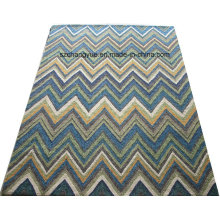 Hand Hooked Polyester Indoor & Outdoor Rug