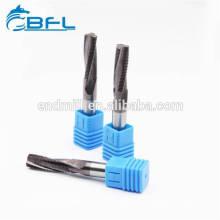 CNC-Vollhartmetallgewinde-Schaftfräser BFL HRC55 / 60 für Stahl