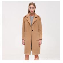 Fashion Long Pattern Women Winter Cashmere Coat