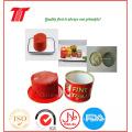 2,2 kg de tomate em conserva orgânico de pasta de tomate da China fornecedor 2016 nova safra