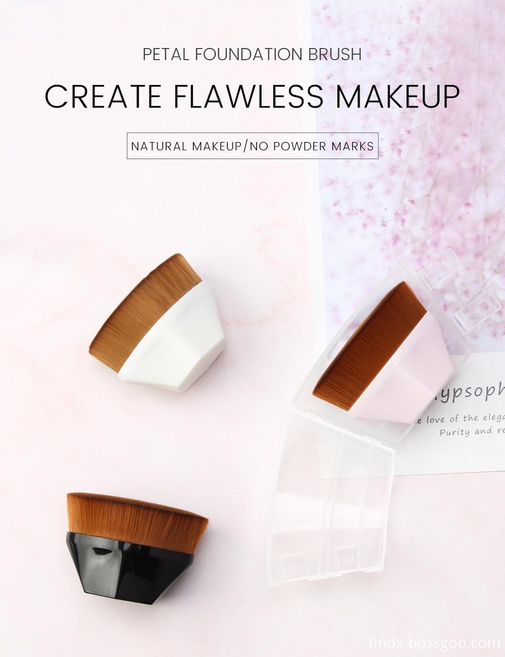 Flat Foundation Makeup Brush 1
