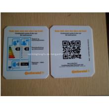 Fördernde quadratische Eiskratzer - Kreditkarte geformt