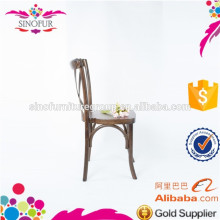 Nova cadeira industrial de madeira industrial francesa